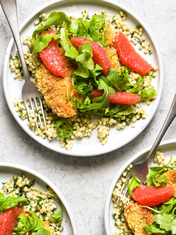 cashew-chicken-with-couscous-and-grapefruit