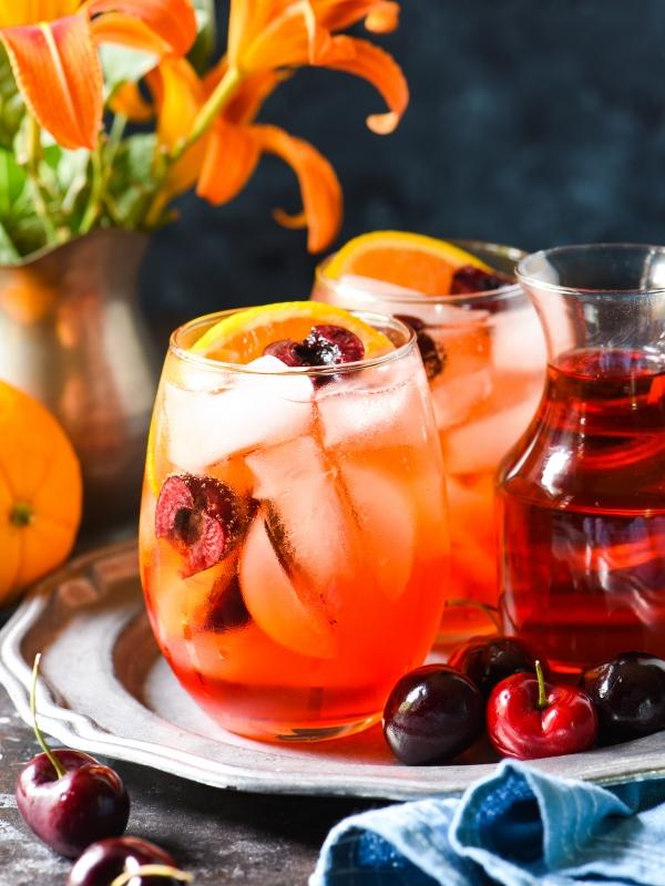 cherry-ginger-prosecco-spritz