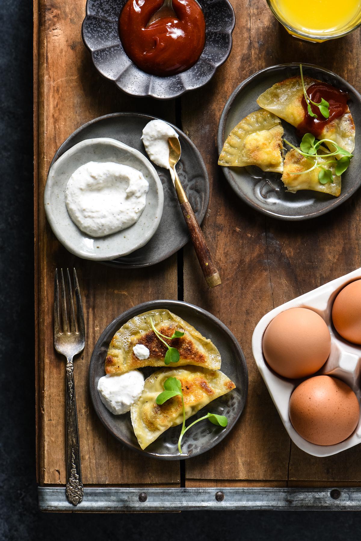 Lazy Sunday Breakfast Dumplings-3