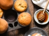 gingered-pear-muffins-with-honey-glaze