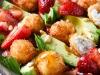 strawberry-avocado-fried-goat-cheese-salad