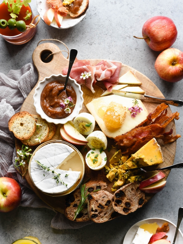 Breakfast Cheese Board