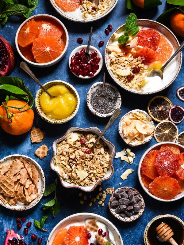 Feast breakfast cheese board winter citrus parfait bar forumfinder Choice Image